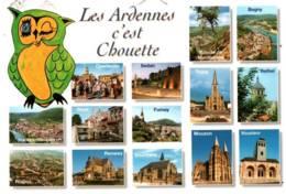 CPM - LES ARDENNES C'est CHOUETTE (ILLUSTRATION) - Edition Mage - Unclassified