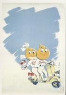 CPM - PUB ESSO - Affiche De M.COLLET - Edition Bibliothèque Forney - Advertising