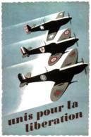 CPM - AFFICHE AMERICAINE Diffusée En FRANCE à La GLOIRE De L'AVIATION ALLIEE ... - Edition BDIC - 1939-1945: 2nd War