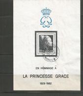 24  Princesse GRACE   Beau Cachet  (clasverA31) - Blocs
