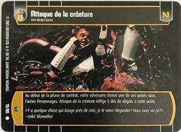 75-105 Attaque De La Créature - Star Wars La Bataille De Yavin - TCG Trading Card Game - 2003 Wizards Of The Coast - Star Wars