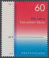 2014Germany3109Fahrenheit Scale - Unused Stamps