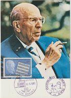 Carte-Maximum SAINT MARIN  N°Yvert 1018 (Compositeur Robert STOLZ) Obl Sp Ill 1980 - Lettres & Documents