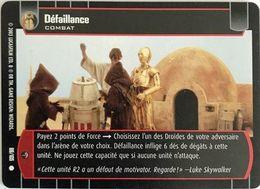 88-105 Défaillance - Star Wars La Bataille De Yavin - TCG Trading Card Game - 2003 Wizards Of The Coast - Star Wars