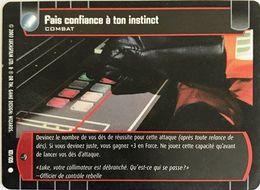 101-105 Fais Confiance à Ton Instinct - Star Wars La Bataille De Yavin - TCG Trading Card Game - 2003 Wizards Of The Coa - Star Wars
