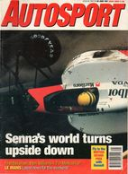 UK Autosport June 1991 Ayrton Senna Riccardo Patrese Nigel Mansell Des O'Dell - 1950-Oggi