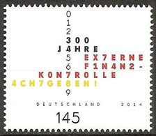 2014Germany3106External Financial Control2,90 € - Unused Stamps