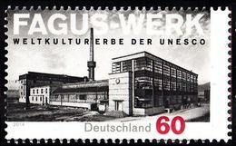 2014Germany3105UNESCO World Heritage: FAGUS Factories - Unused Stamps