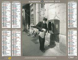 Calendrier La Poste - Almanach Du Facteur 2010 - Oller - Calendars