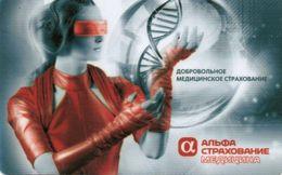 RUSSIA-ALFA MEDICINA CARD - Andere Sammlungen