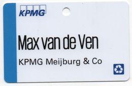 KPMG MEIJBURG &CO - MAX VAN DE VEN - Andere Sammlungen