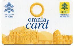 OMNIA CARD - VICARIATO DI ROMA - OPERA ROMANA PELLEGRINAGGI - Andere Sammlungen