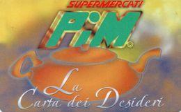 ITALY -SUPERMERCATI PIM -LA CARTA DEI DESIDERI - Andere Sammlungen