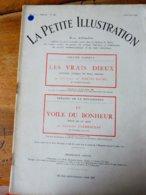LES VRAIS DIEUX, De George De Porto-Riche  Et LE VOILE DU BONHEUR ,de Georges Clémenceau ( LA PETITE ILLUSTRATION 1930) - Theatre