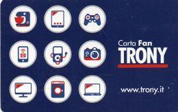 CARTA FAN TRONY  CARD - Andere Sammlungen