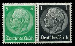 D-REICH ZUSAMMENDRUCK Nr W59 Postfrisch WAAGR PAAR X7A17E6 - Zusammendrucke