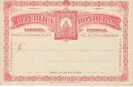 HONDURAS  POSTAL  CARD - Honduras