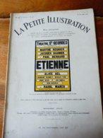 ÉTIENNE, De Jacques Deval (origine :LA PETITE ILLUSTRATION 1930) Photo:dédicacée De Princesse VATCHNADGÉ (Mary Costes) - Theatre