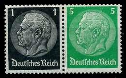 D-REICH ZUSAMMENDRUCK Nr W71 Postfrisch WAAGR PAAR X7A647A - Zusammendrucke