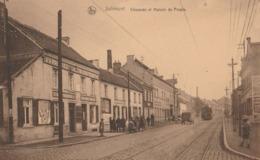 Jolimont ,( La Louvière , Fayt Lez Manage ), Chaussée Et Maison Du Peuple , TRAM - La Louviere