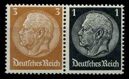 D-REICH ZUSAMMENDRUCK Nr W77 Postfrisch WAAGR PAAR X7A6546 - Zusammendrucke