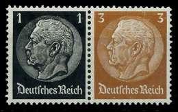D-REICH ZUSAMMENDRUCK Nr W95 Postfrisch WAAGR PAAR X7A8252 - Zusammendrucke