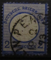 🦅 Dt. Reich 1872, Mi. 20: 2 Gr. Stempel Berlin P.E. No. 2, Value 9,- - Oblitérés