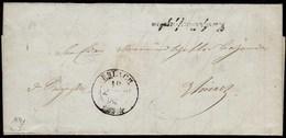 Schweiz 1841 Brief Mit Inhalt Von ERLACH R2  (23710 - Svizzera