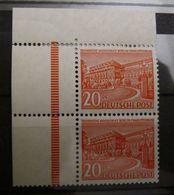 Berlin 1949, Mi. 49 Senkr. Paar Eckrandstück, ** MNH, Value 50,-+ - Unused Stamps