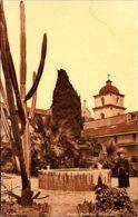 California Santa Barbara The Santa Barbara Mission 1924 - Santa Barbara