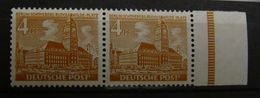 Berlin 1949, Mi. 43 Waag. Paar, ** MNH, Value 3,- - Unused Stamps