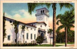 California Santa Barbara County Court House 1937 - Santa Barbara