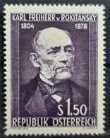 AUSTRIA 1954 - MNH - ANK 1006 - Rokitansky - 1945-.... 2. Republik
