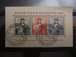 REPRINT Bizone 1949 Mi. Block 1, NACHDRUCK, GST Used - Zone Anglo-Américaine