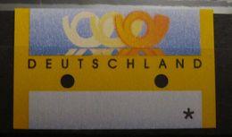 Bund FRG, Automatenmarke ATM 3 Postemblem, Komplett Verschnitten - Errors And Oddities