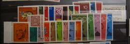 1968, Bund FRG, Kompletter Jahrgang, Full Year, ** MNH, Value 15,- - Unused Stamps