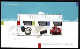 Australian Antarctic 2017 Cultural Heritage Minisheet CTO - Territorio Antártico Australiano (AAT)