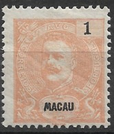 Macau Macao – 1898 King Carlos 1 Avo Mint Stamp - Macao