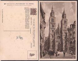Nürnberg - Tuck's Postkarte - Lorenzkirche - Circa 1918 - Non Circulee - Cygnus - Nürnberg