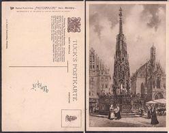 Nürnberg - Tuck's Postkarte - Schöner Brunnen - Circa 1918 - Non Circulee - Cygnus - Nürnberg