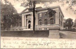 New York Utica Public Library 1907 - Utica
