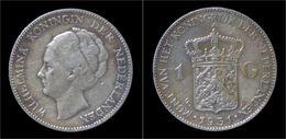 Netherlands Wilhelmina I 1 Gulden 1931 - 1 Gulden