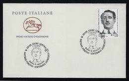 "2015 ITALIA REPUBBLICA ""CENTENARIO SCOMPARSA GAETANI PERUSINI"" FDC CAVALLINO (UDINE) - F.D.C."
