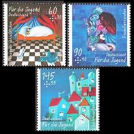 """2014Germany3096-3098""""Dream Eater""""8,40 € - Unused Stamps"""