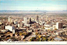 Colorado Denver Aerial VIew 1975 - Denver