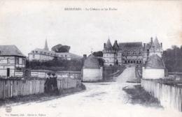 76 - Seine Maritime -  MESNIERES - Le Chateau Et Les Ecoles - Otros Municipios