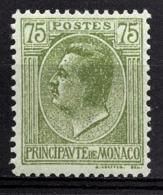 MONACO 1924 / 1933 -  Y.T. N° 90 - NEUF** /1 - Unused Stamps