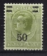 MONACO 1924 / 1933 -  Y.T.  N° 105 - NEUFS** - Unused Stamps