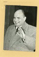 PHOTO DE PRESSE . Procés Des Barricades  ANDRE JACOMET  Secretaire Du Gouvernement D'alger En 1961 - Identified Persons