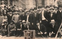 Chine - Groupe D'Hommes (Aristocratie, Commerçants) - Carte N.C. Non Circulée - Timbre 1 Cent China (Deusches Reich) - Cina